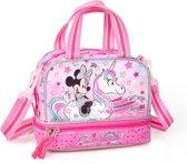 Minnie - Lunchtas Unicorn 22 cm hoog - Roze