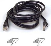 Belkin CAT 5 PATCH CABLE 5m Zwart netwerkkabel