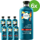 Herbal Essences Moroccan Argan Oil Shampoo - 6 x 400ml - Voordeelverpakking