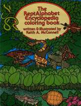 The Reptalphabet Encyclopedia Coloring Book