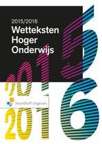 Wetteksten hoger onderwijs Editie 2015-2016