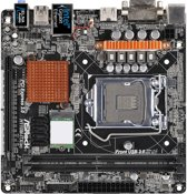 Asrock H110M-ITX/ac LGA 1151 (Socket H4) Intel® H110 Mini ITX