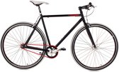 Ks Cycling Fiets 28 inch fiets fixed gear bike Essence -