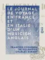 Le Journal de voyage en France et en Italie d'un musicien anglais