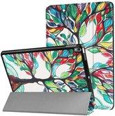 Smart Tri-Fold Case voor iPad Air - Painted Tree