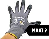Werkhandschoen ATG Maxiflex Ultimate Nitrile handpalm gecoat 34-874 , 12 paar , mt 9