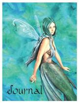 Mermaid Fairy Oversized 8.5x11, 150 Page Lined Blank Journal Notebook