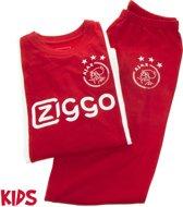 Ajax pyjama kinderen - rood/wit - maat 140