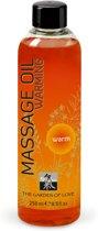 Shiatsu Massage olie - Verwarmend