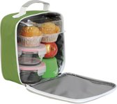 Shugon Sandwich Lunchbox Bag Lime/Light Grey 4 Liter
