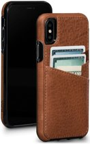 Sena Lugano Wallet Hoesje Apple iPhone X Bruin