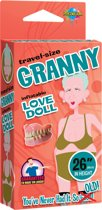 Pipedream Wanachi - Granny Inflatable Love Doll - Opblaaspop - Huidskleurig