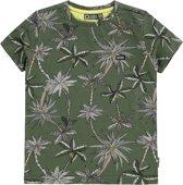 Tumble 'n dry Jongens T-shirt Denzerios - Moss Green - Maat 116