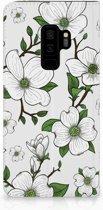 Samsung Galaxy S9 Plus Standcase Hoesje Design Dogwood Flowers