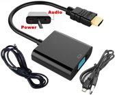 HDMI naar VGA met AUDIO + POWER