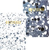 Set van 2 'Beautiful Mess' Softcover Design Notitieboekjes Nº 2 + Nº 4