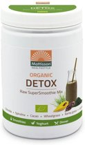 Mattisson SuperSmoothie Raw Detox Bio - 300 gram - Maaltijdvervanger