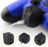 Audio Headset & Microfoon Adapter Voor de PS4 - Dualshock 3.5mm Aux Mini Jack Controller Voor de Playstation 4