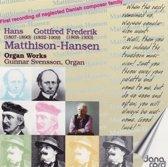 Matthison-Hansen: Organ Works / Gunnar Svensson