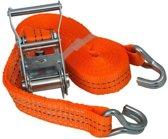 Spanband Industrieel 6 meter Oranje