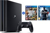 Sony PlayStation 4 Pro Console - 1TB - PS4  + GTA + Uncharted 4