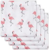 Jollein Flamingo Hydrofiel luier (4pack)