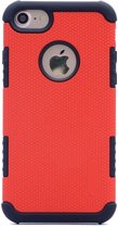Teleplus iPhone 5s Armour Hybrid Double Layer Cover Case Red hoesje