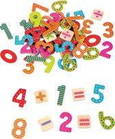 Lelin Toys - Magnetisch Cijfers - Rekentekens - 60 cijfers