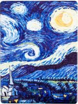 Shop4 - Kobo Aura ONE Hoes - Book Cover Gogh Sterren Nacht