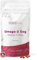 Omega-3 Oog (Goed voor het gezichtsvermogen en de conditie van het oog) - 90 Capsules - Flinndal