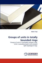 Groups of Units in Totally Bounded Rings
