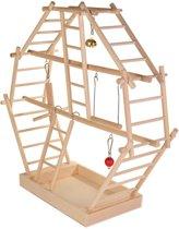 Trixie Speelplaats Ladder  Hout - 44X16X44 CM