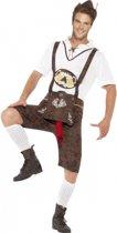 Oktoberfest - Funny lederhosen kostuum voor heren 52-54 (L)