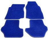 PK Automotive Complete Premium Velours Automatten Lichtblauw Seat Leon 2009-