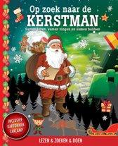 Op zoek naar de kerstman + kartonnen zaklamp