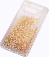 Teleplus Samsung Galaxy S10 Water Stone Silicone Case Gold