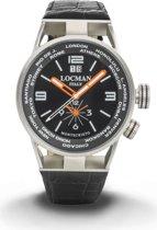 Locman Mod. 0508A01S-00BKWHPK - Horloge