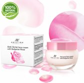 Anti Acne Control Gezichtscrème Met Rustgevende Roos Olie, Vitamine E & A -100% Natuurlijk & Gecertificeerd - 50 ml