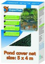 Superfish vijverafdeknet, 10 x 6 meter, Incl. 24 grondpennen