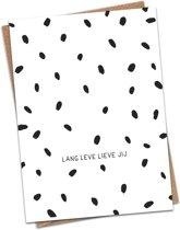 LivLaf Kaart - Verjaardag - Lang Leve Lieve Jij