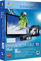 Pinnacle Studio 18 Plus - Nederlands/ 1 Gebruiker/ DVD