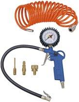 Scheppach Luchtgereedschap - 5-delige kit - Compressoraccessoires - 7906100724