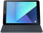 Samsung book cover keyboard (AZERTY) - grijs - voor Samsung T820 Tab S3 9.7""