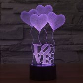 LED Sfeerverlichting Love Heart - Touch-bediening 4