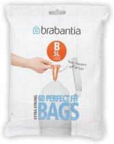 Brabantia Perfect Fit Afvalzakken - 5 l - Code B - 60 stuks