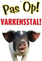 Varken Waakbord - Pas op Varkensstal