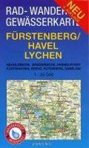 Fürstenberg/Havel, Lychen 1 : 35 000 Rad-, Wander- und Gewässerkarte