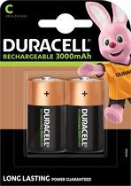 Duracell C Oplaadbare Batterijen - 2 batterijen