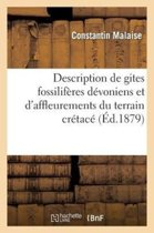Description de Gites Fossilif res D voniens Et d'Affleurements Du Terrain Cr tac