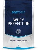 Body & Fit Whey Perfection - Eiwitpoeder / Eiwitshake - 750 gram - Chocolate Coconut Bounty milkshake